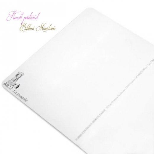 フランス 封筒付きポストカード 【私のお人形】 エディション ミロンテーン Editions Mirontaine【画像6】