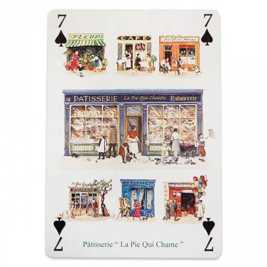 フランス 封筒付きポストカード 【パティスリー パリのお店】 エディション ミロンテーン Editions Mirontaine