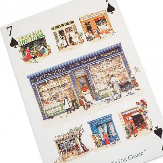 フランス 封筒付きポストカード 【パティスリー パリのお店】 エディション ミロンテーン Editions Mirontaine【画像2】
