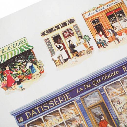 フランス 封筒付きポストカード 【パティスリー パリのお店】 エディション ミロンテーン Editions Mirontaine【画像3】
