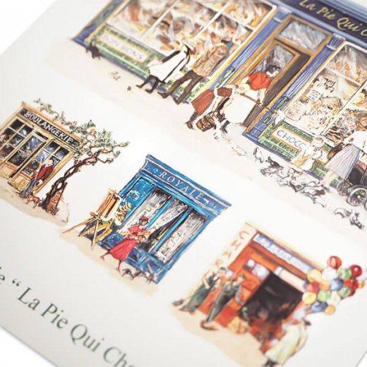フランス 封筒付きポストカード 【パティスリー パリのお店】 エディション ミロンテーン Editions Mirontaine【画像4】