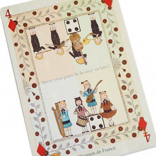 フランス 封筒付きポストカード 【フランスの歌】 エディション ミロンテーン Editions Mirontaine【画像2】