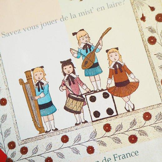 フランス 封筒付きポストカード 【フランスの歌】 エディション ミロンテーン Editions Mirontaine【画像3】