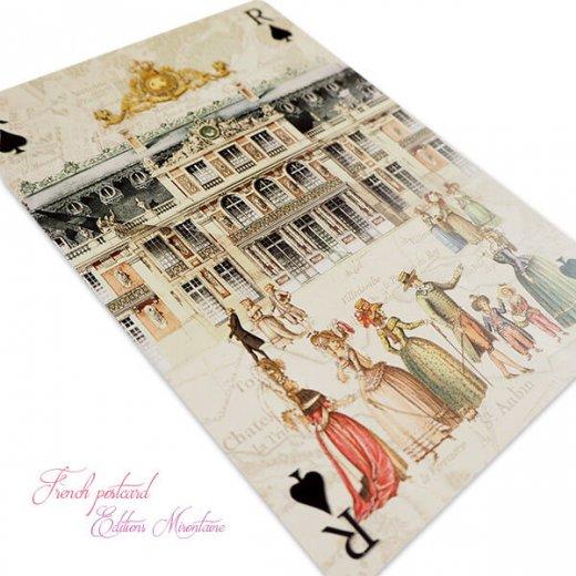 フランス 封筒付きポストカード 【ベルサイユ宮殿】 エディション ミロンテーン Editions Mirontaine【画像4】