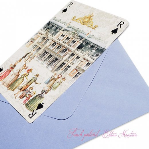 フランス 封筒付きポストカード 【ベルサイユ宮殿】 エディション ミロンテーン Editions Mirontaine【画像6】