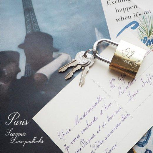 フランス直輸入!フランス 南京錠 スーベニア お土産 お守り【ラブロック・Love padlocks】【画像2】
