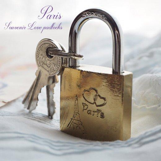 フランス直輸入!フランス 南京錠 スーベニア お土産 お守り【ラブロック・Love padlocks】【画像4】