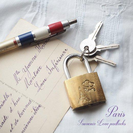 フランス直輸入!フランス 南京錠 スーベニア お土産 お守り【ラブロック・Love padlocks】【画像5】