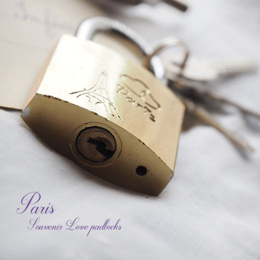 フランス直輸入!フランス 南京錠 スーベニア お土産 お守り【ラブロック・Love padlocks】【画像6】