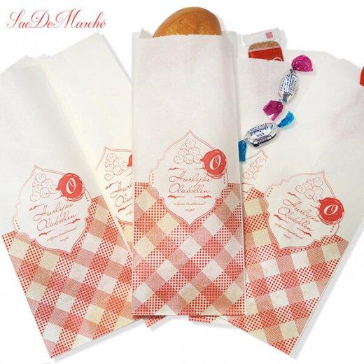 マルシェ袋 オランダ 海外市場の紙袋 (オリーボーレン)5枚セット