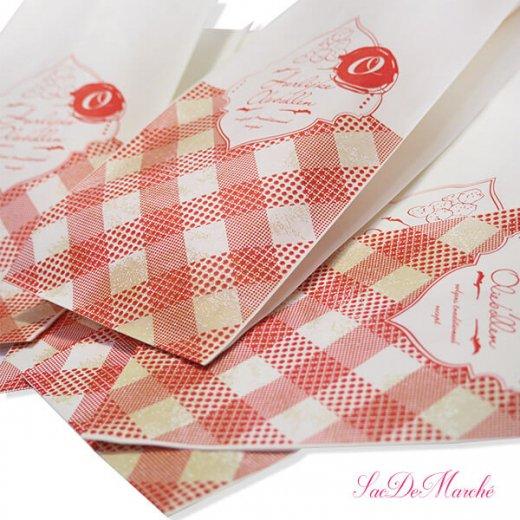 マルシェ袋 オランダ 海外市場の紙袋 (オリーボーレン)5枚セット【画像2】