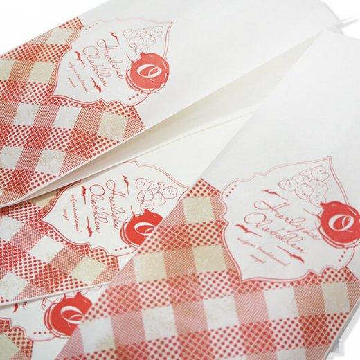 マルシェ袋 オランダ 海外市場の紙袋 (オリーボーレン)5枚セット【画像3】