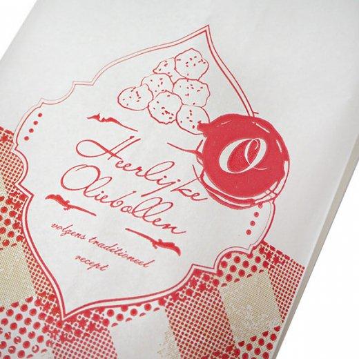 マルシェ袋 オランダ 海外市場の紙袋 (オリーボーレン)5枚セット【画像4】