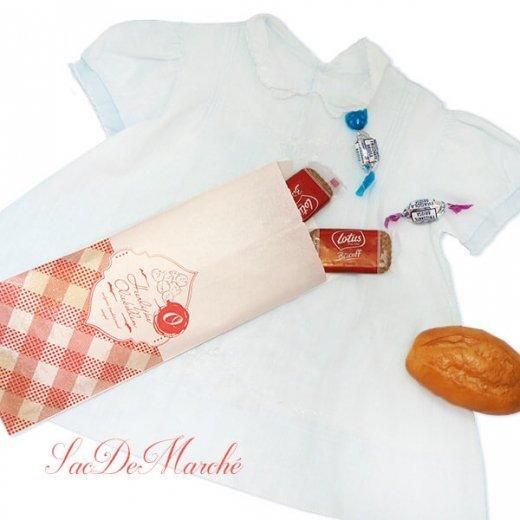 マルシェ袋 オランダ 海外市場の紙袋 (オリーボーレン)5枚セット【画像5】