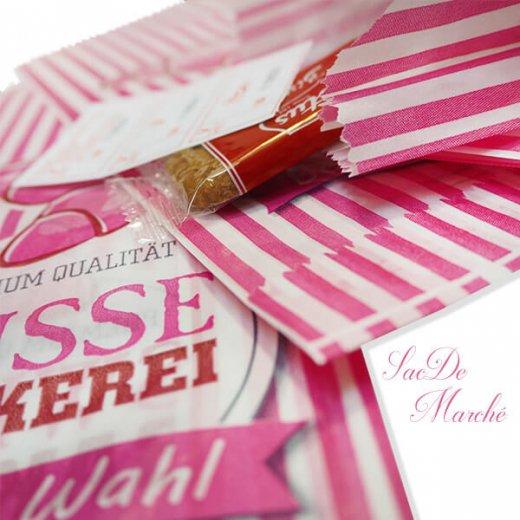 マルシェ袋 ドイツ 海外市場の紙袋(スイートベーカリー)5枚セット【画像3】