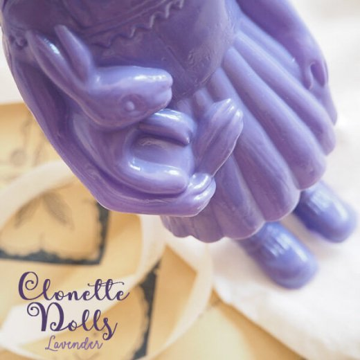 フランス クロネットドール clonette dolls【Lavender】【画像4】