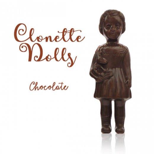 フランス クロネットドール clonette dolls【Chocolate】