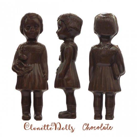 フランス クロネットドール clonette dolls【Chocolate】【画像2】