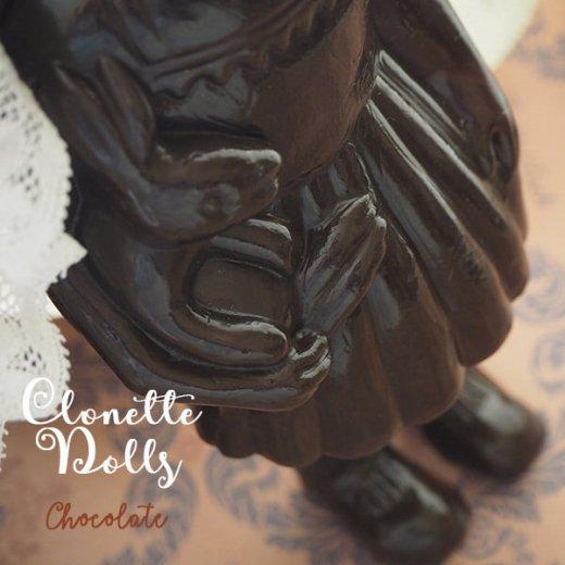 フランス クロネットドール clonette dolls【Chocolate】【画像4】