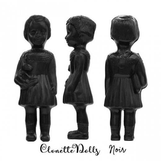 フランス クロネットドール clonette dolls【Noir】【画像2】