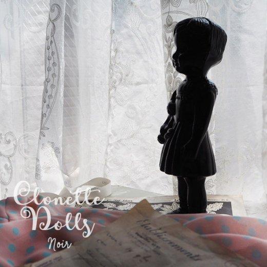 フランス クロネットドール clonette dolls【Noir】【画像4】