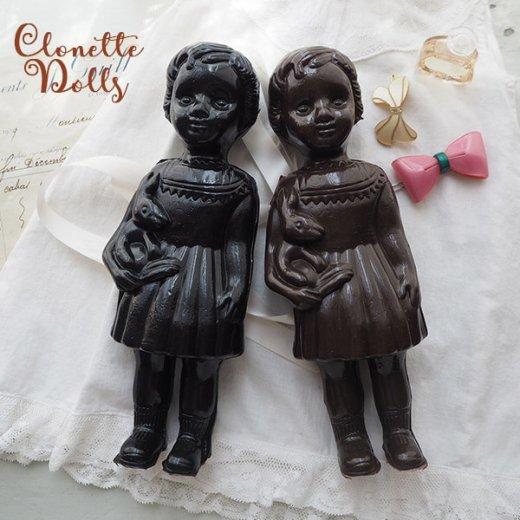 フランス クロネットドール clonette dolls【Noir】【画像8】