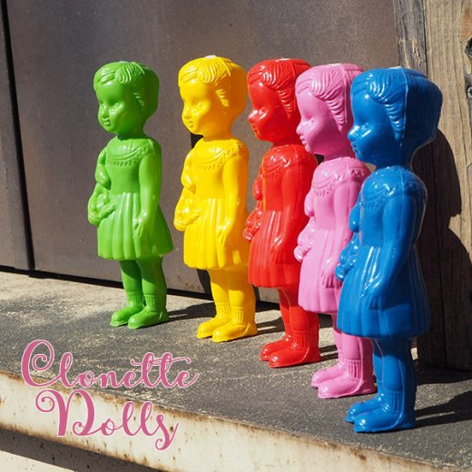 フランス クロネットドール clonette dolls【Noir】【画像9】