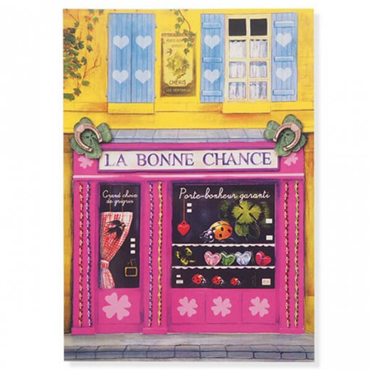 フランス ポストカード(La Bonne Chance)