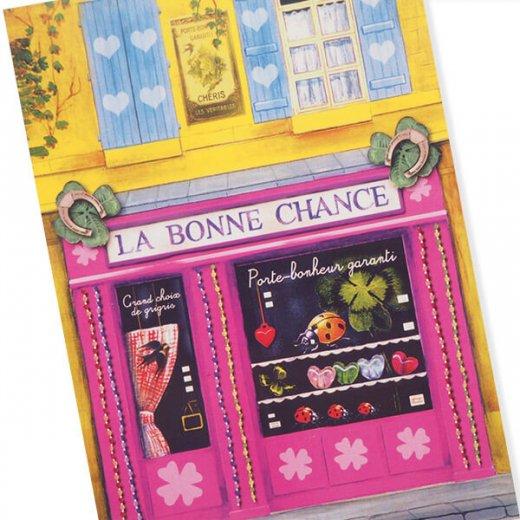 フランス ポストカード(La Bonne Chance)【画像2】
