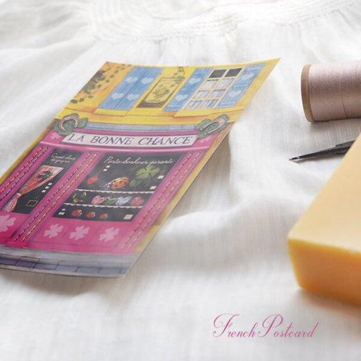 フランス ポストカード(La Bonne Chance)【画像4】