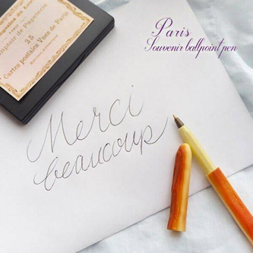 フランス直輸入 まとめ買いがお得♪ スーベニア パリジャン ボールペン【フランス お土産 バゲットペン】【画像3】