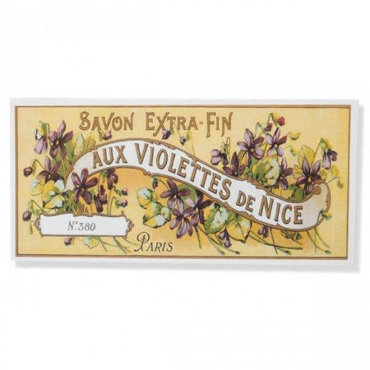 フランス ミニポストカード サボンアドカード (Violettes de NICE)