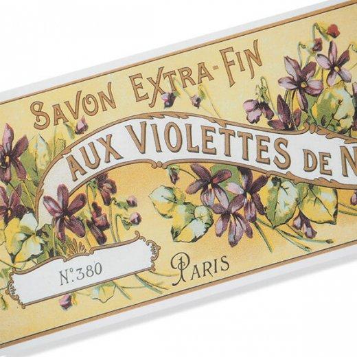 フランス ミニポストカード サボンアドカード (Violettes de NICE)【画像2】