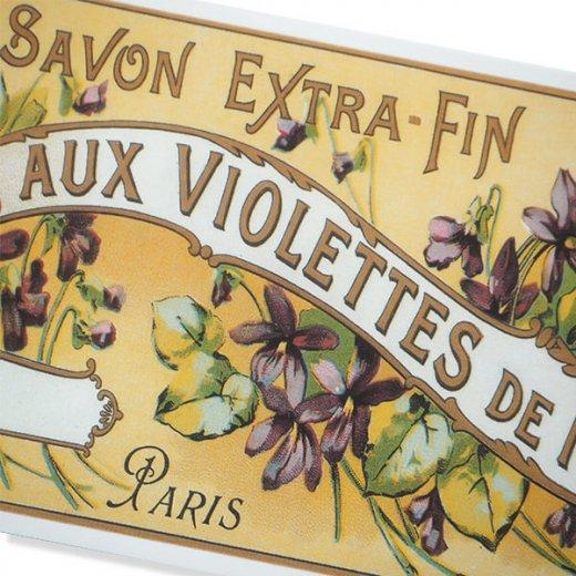フランス ミニポストカード サボンアドカード (Violettes de NICE)【画像3】