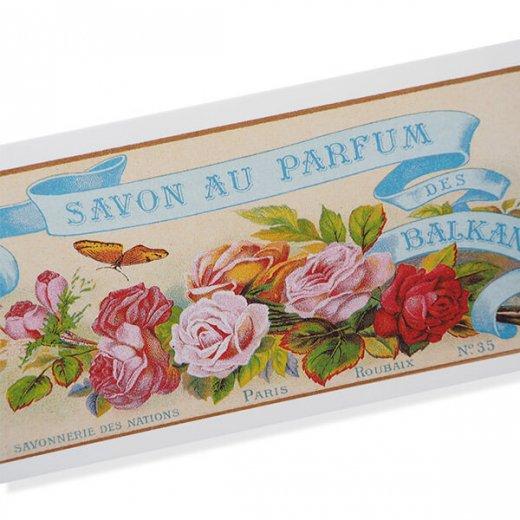 フランス ミニポストカード サボンアドカード (Savon au Parfum des BALKANS)【画像2】
