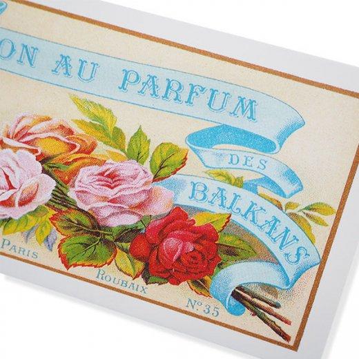 フランス ミニポストカード サボンアドカード (Savon au Parfum des BALKANS)【画像3】