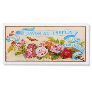 フランス ミニポストカード サボンアドカード (Savon au Parfum des BALKANS)