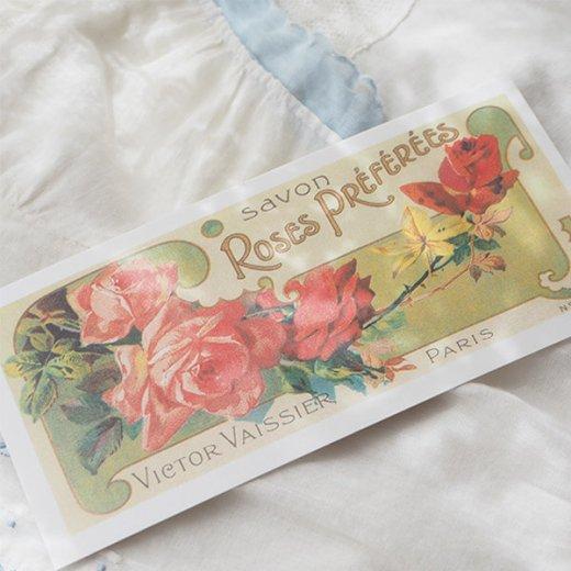 フランス ミニポストカード サボンアドカード (Roses Preferees)【画像5】