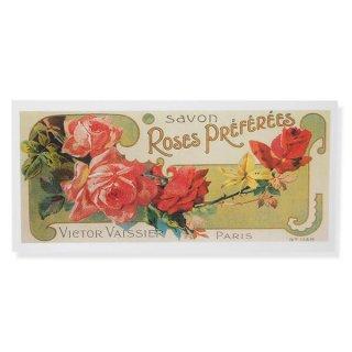 フランス ミニポストカード サボンアドカード (Roses Preferees)
