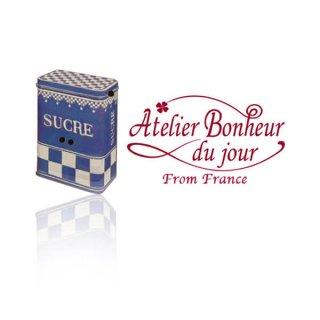 フランス輸入ボタン アトリエ・ボヌール・ドゥ・ジュール【シュガー 缶】