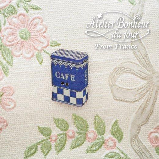 フランス輸入ボタン アトリエ・ボヌール・ドゥ・ジュール【カフェ 缶】【画像5】