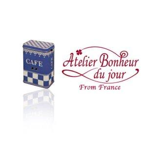 フランス輸入ボタン アトリエ・ボヌール・ドゥ・ジュール【カフェ 缶】