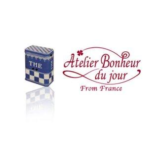 フランス輸入ボタン アトリエ・ボヌール・ドゥ・ジュール【ティー 缶】