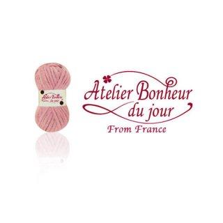 フランス輸入ボタン アトリエ・ボヌール・ドゥ・ジュール【毛糸・Pink】