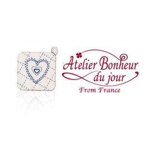 フランス輸入ボタン アトリエ・ボヌール・ドゥ・ジュール【ポットホルダー】