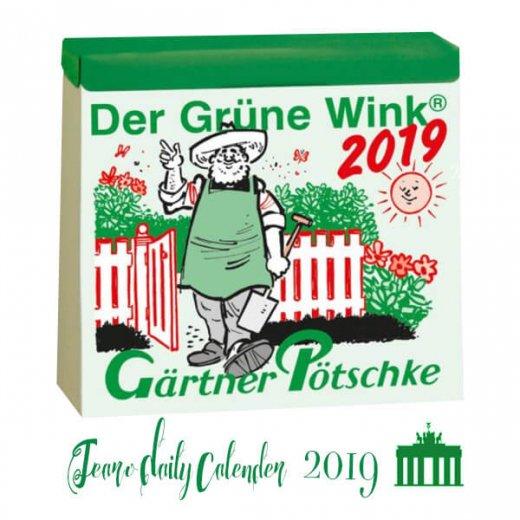 2019年 ドイツ RUNNEN (ブルネン)  ガーデニング 日めくりカレンダー 【入荷しました】
