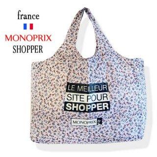 【フランス直輸入!】 MONOPRIX モノプリ 限定エコバッグ【パリ・エッフェル塔】