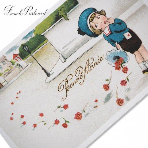 フランス ポストカード  (Bonne Annee I)【画像2】