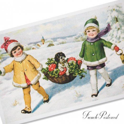 フランスポストカード ( Petit bonheur)【画像2】