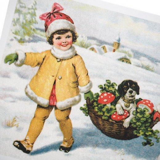 フランスポストカード ( Petit bonheur)【画像3】